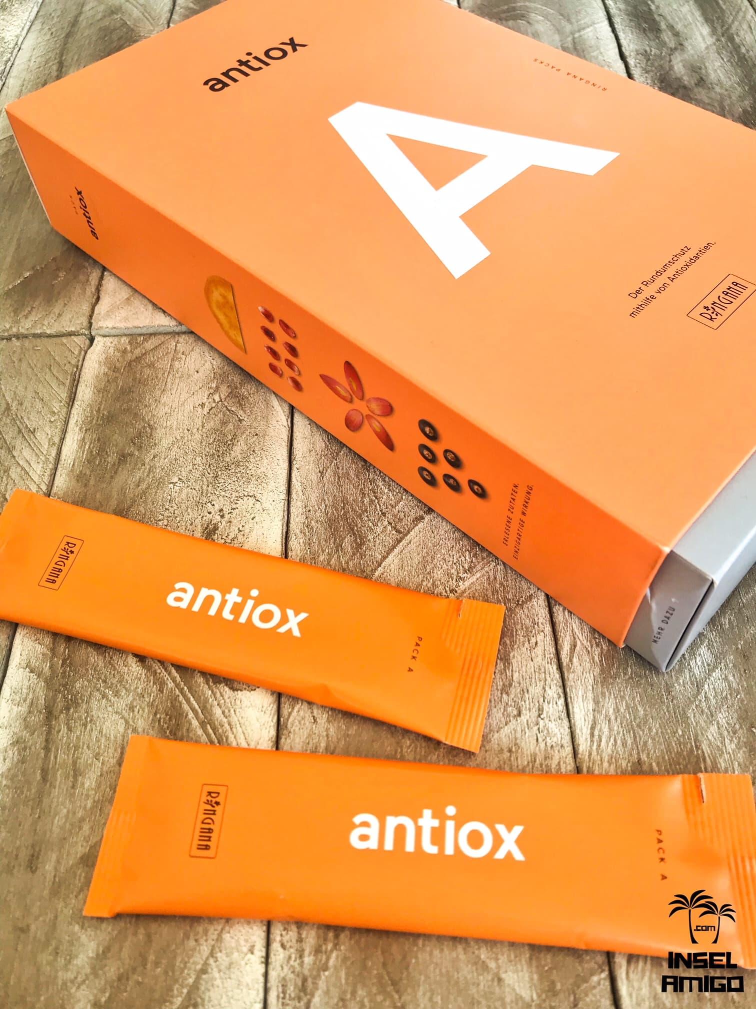 Das PACK antiox für bessere Abwehrkräfte - Foto by Inselamigo