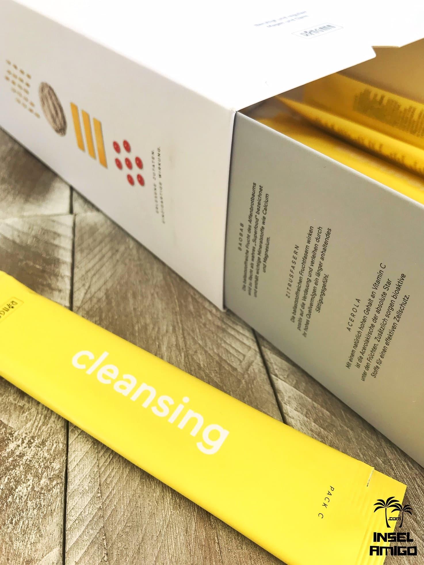 Das PACK cleansing sorgt für einen gesunden Darm - Foto by Inselamigo