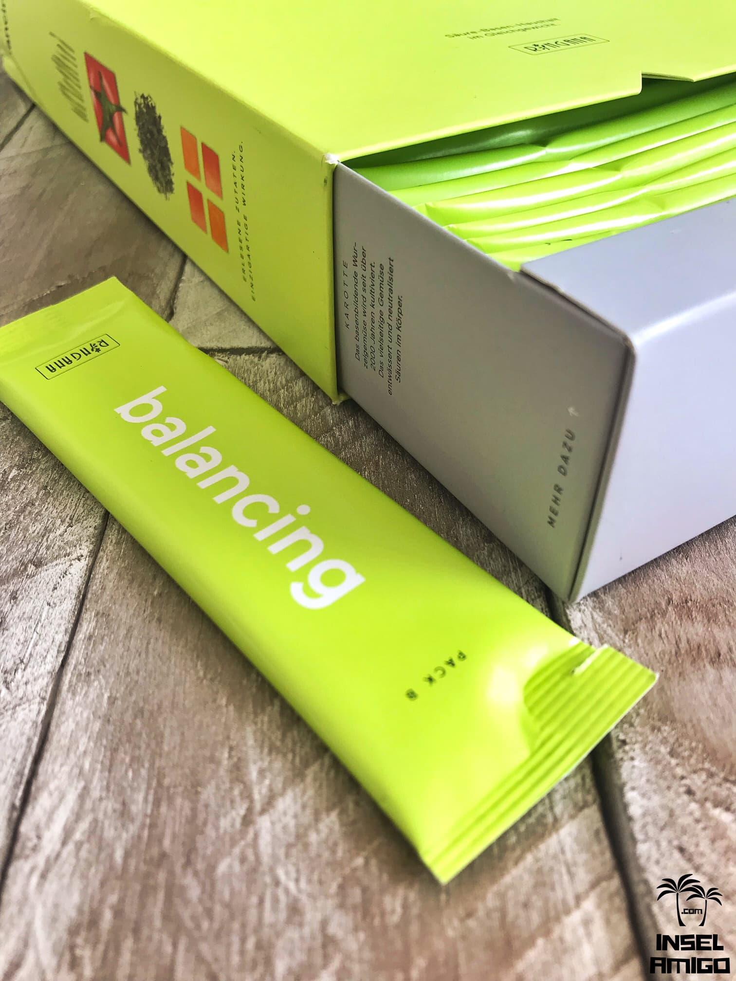 Das PACK balancier bringt Deinen Säure-Basen-Haushalt in's Gleichgewicht - Foto by Inselamigo
