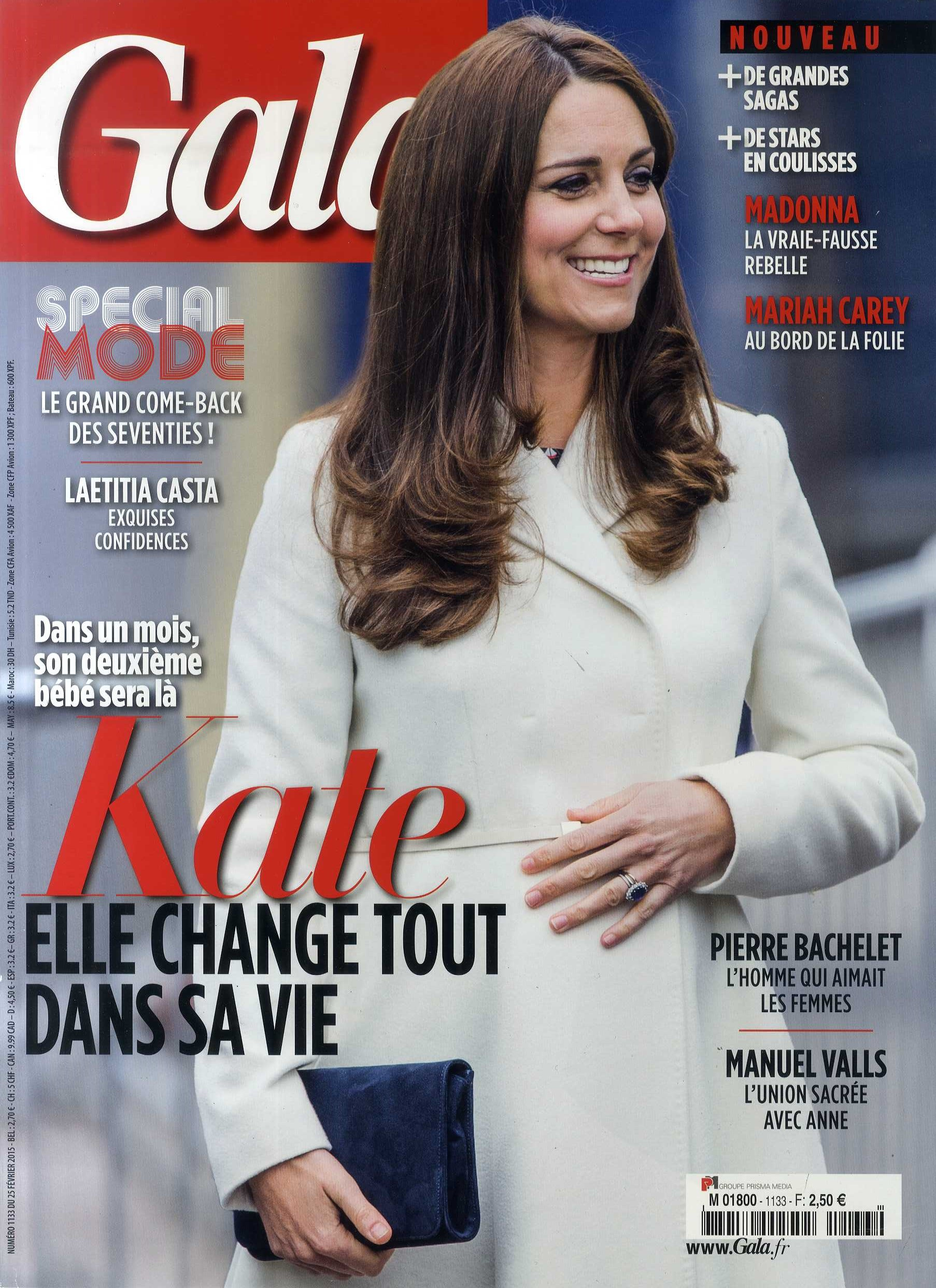 GALA 25 février 2015 Cover - clara jasmine