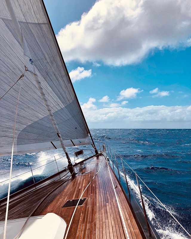 A few important reminders from the high seas: • Harness your resources. • Forward momentum is always the answer. • You'll end up where you want to be if you're ready and willing to make adjustments along the way.