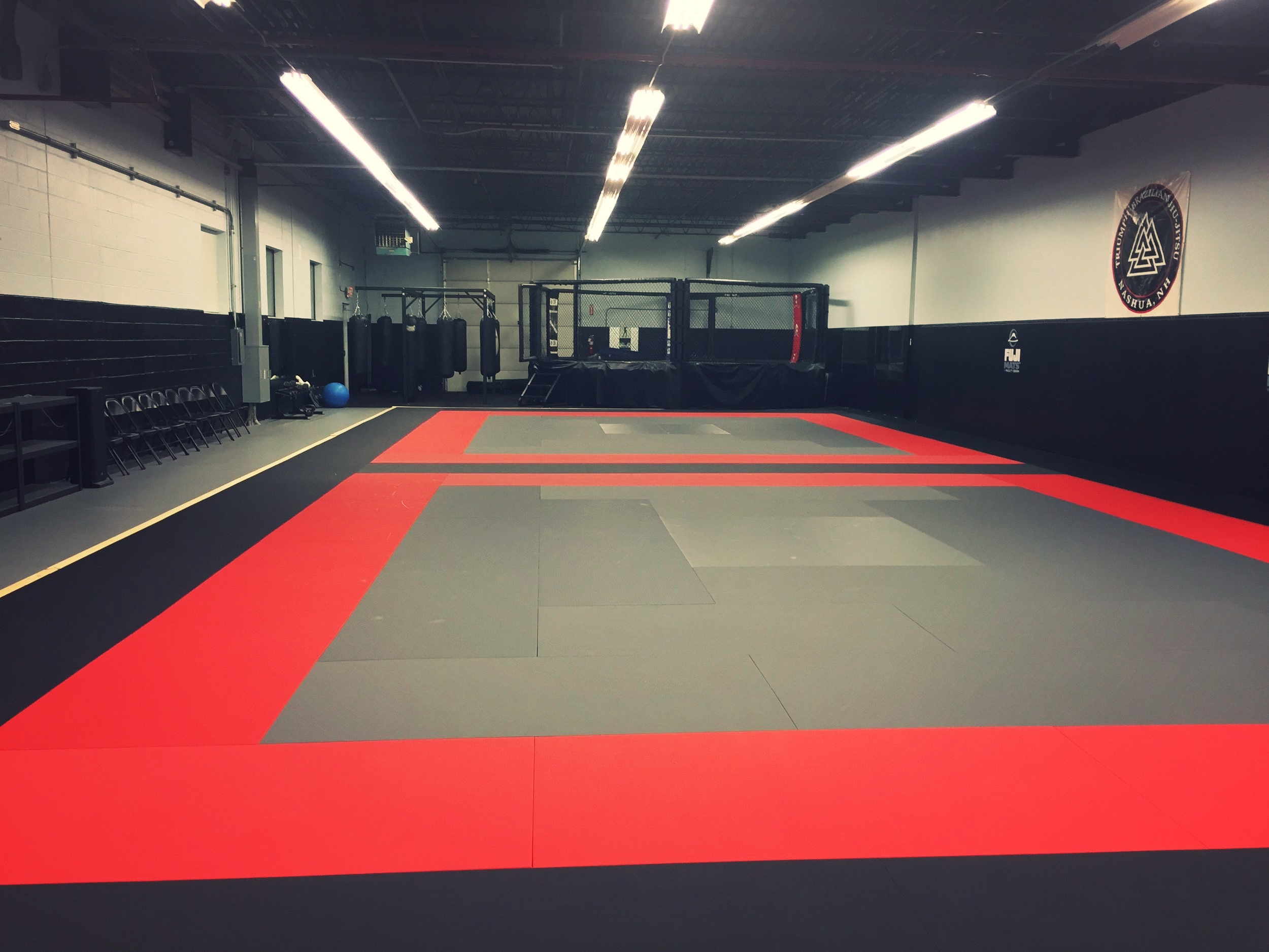 4,000 square feet of training space