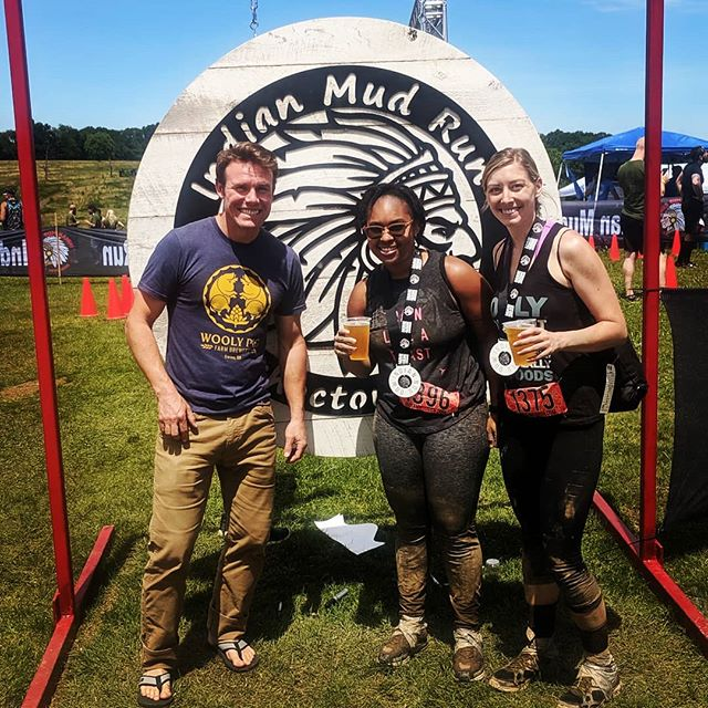 It has been a beautiful day the Indian Mud Runners and the beer ain't half bad either!  Cheers to all the volunteers, staff and competitors for making this such an incredible event!
