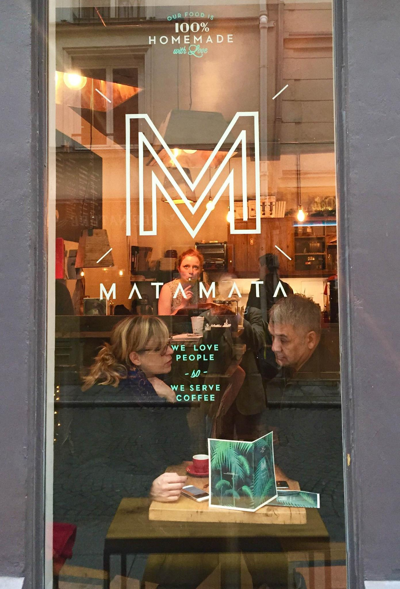Matamata, small and cozy on the Rue d'Argout in the 2nd.