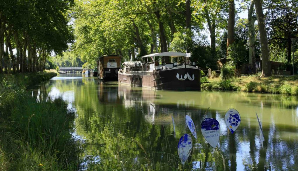 The Canal du Midi near Toulouse. Source Toulouse Tourist Office.