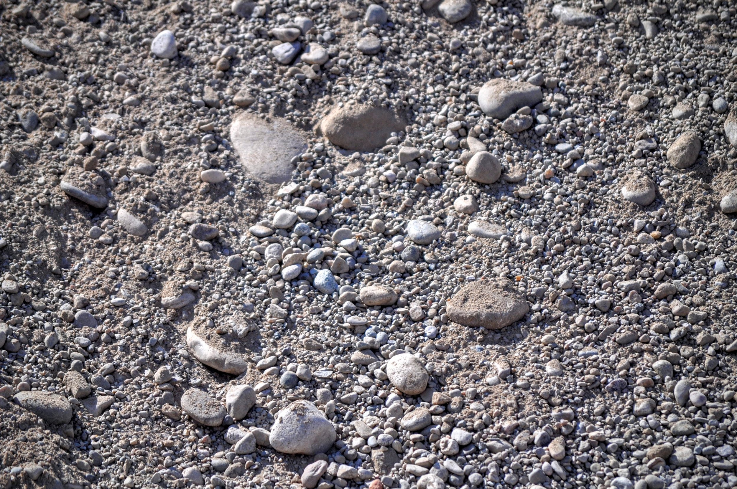Pit Run  Unprocessed material that has everything from sand to large rocks. Used for backfill