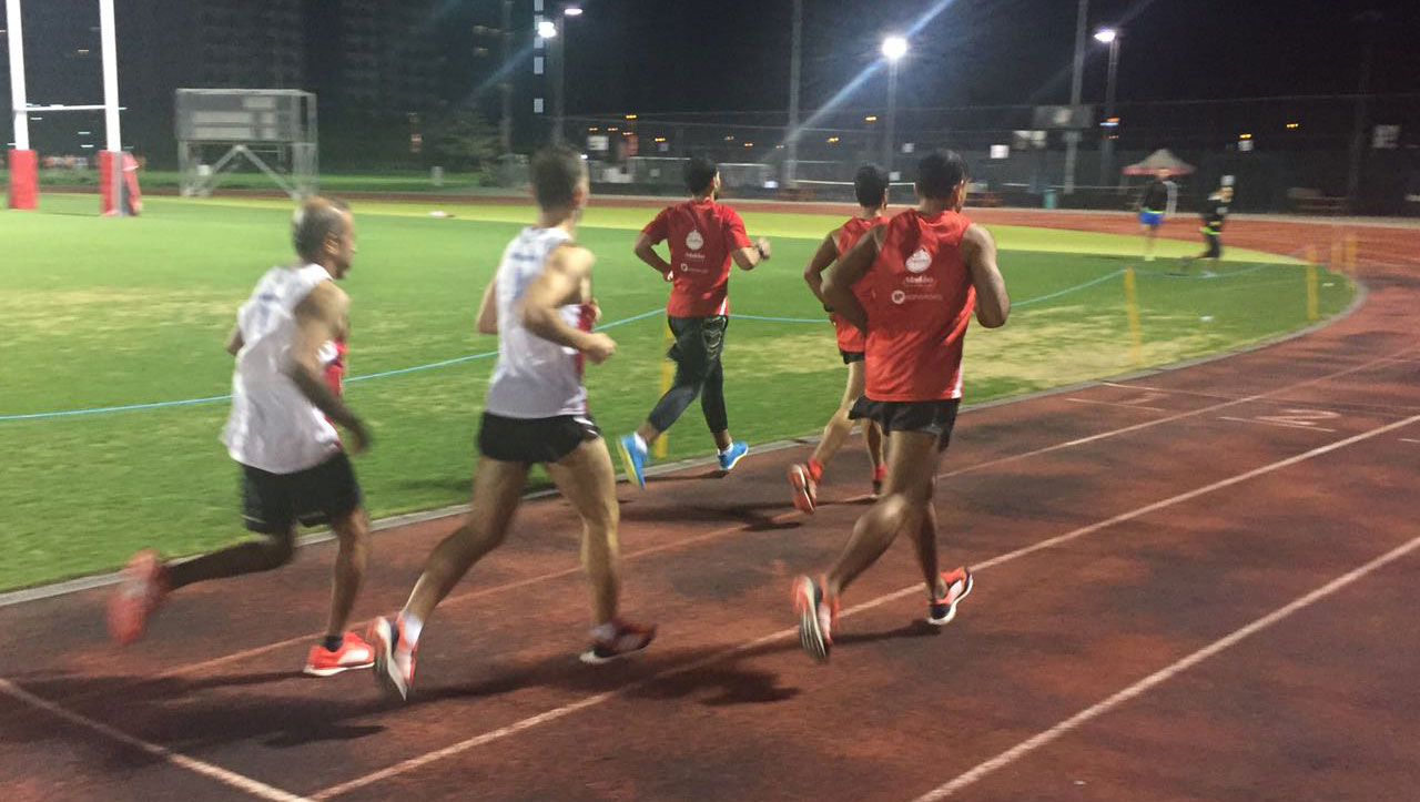 Track sessions with DRR at Dubai Sports City
