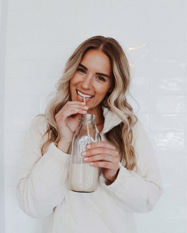 Could what you're drinking be messing up your diet? Think about it, we talk all the time about what we eat and how many calories we eat but not very often do we talk about what what we drink 🥤  Now we all know the usual culprits, soda and sugary drinks, but so many fly under the radar and are disguised as healthy when they aren't. Even organic juices are full of sugar! And those bottles green juices and smoothies aren't as great as you think 🧐 Even some nut milks have sugar added and that can get your taste buds as well as your blood sugar all out of sorts.  So if you are looking for little ways to improve your health without completely overhauling your diet this summer, take note of what you're drinking, and how much sugar and additives they contain. It just might help get you back on track to eating better as well 👏🏻!! ✨ also this quarter zip is on sale for $40 and so soft! Check it out using this pic at the link in my bio http://liketk.it/2OXDr @liketoknow.it #liketkit #StayHomeWithLTK #LTKsalealert #LTKunder50 #healthyeating #homemadealmondmilk #healthylifestyle #healthtips #healthtipsoftheday #healthyliving #tipsandtricks