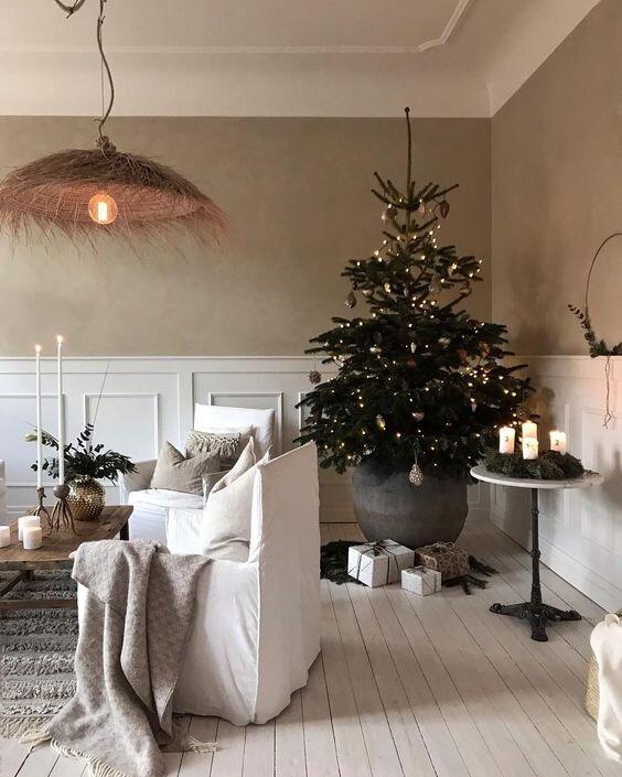 holiday home decor Christmas tree
