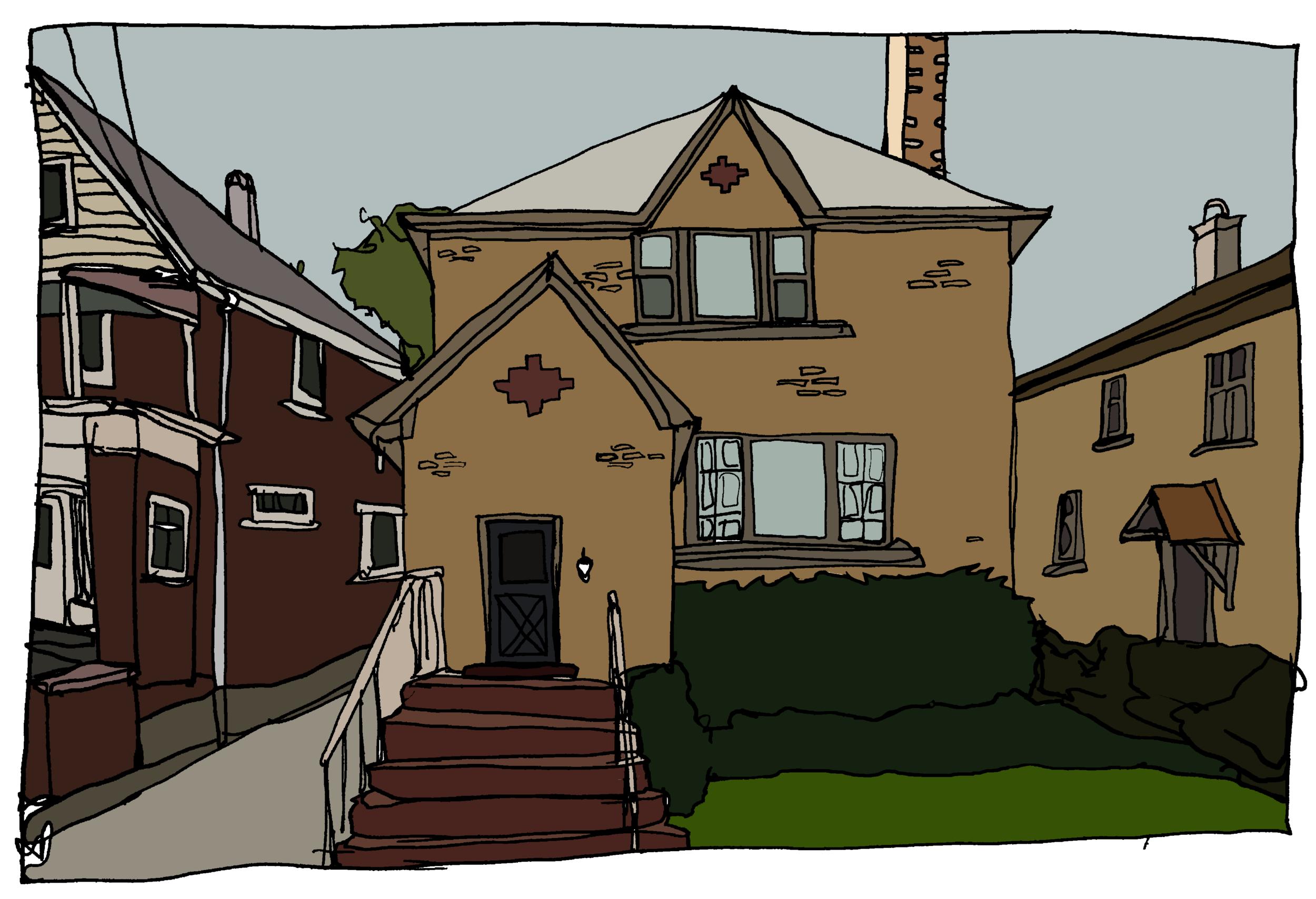 Arcangela Longo's House (Before Mob Explosion)