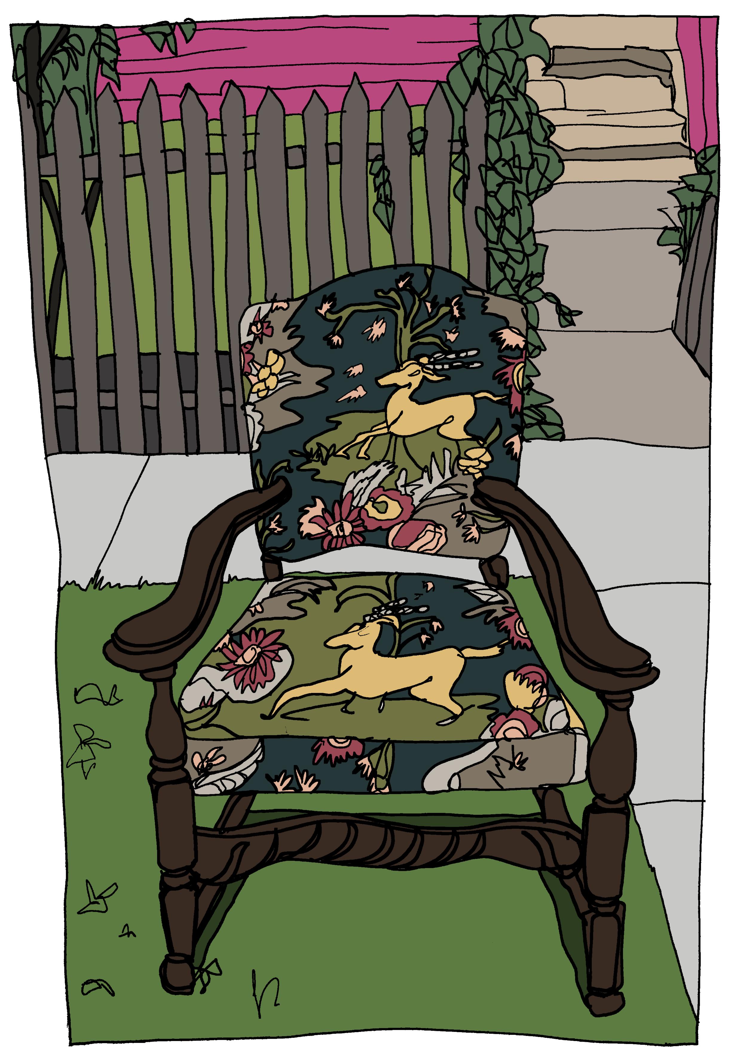 Chair Left Outside