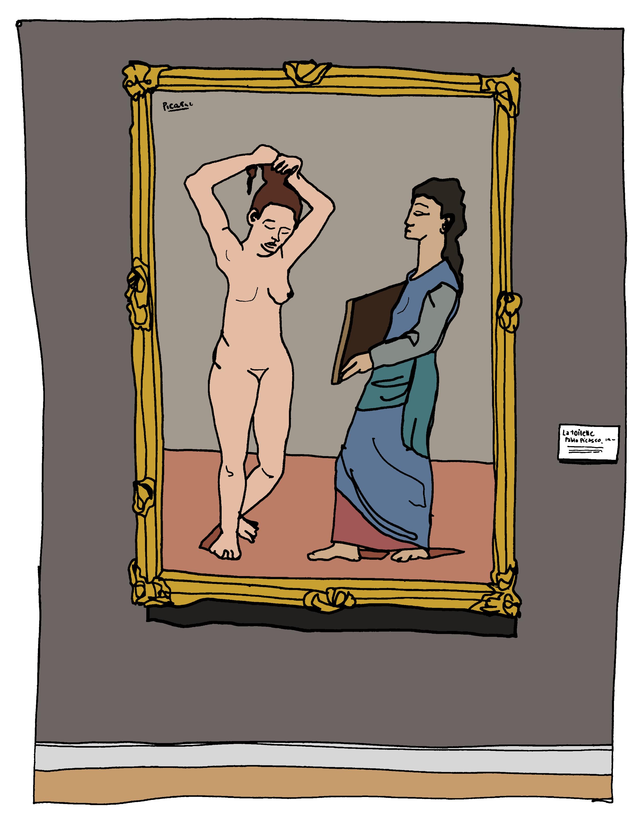 La Toilette, Picasso