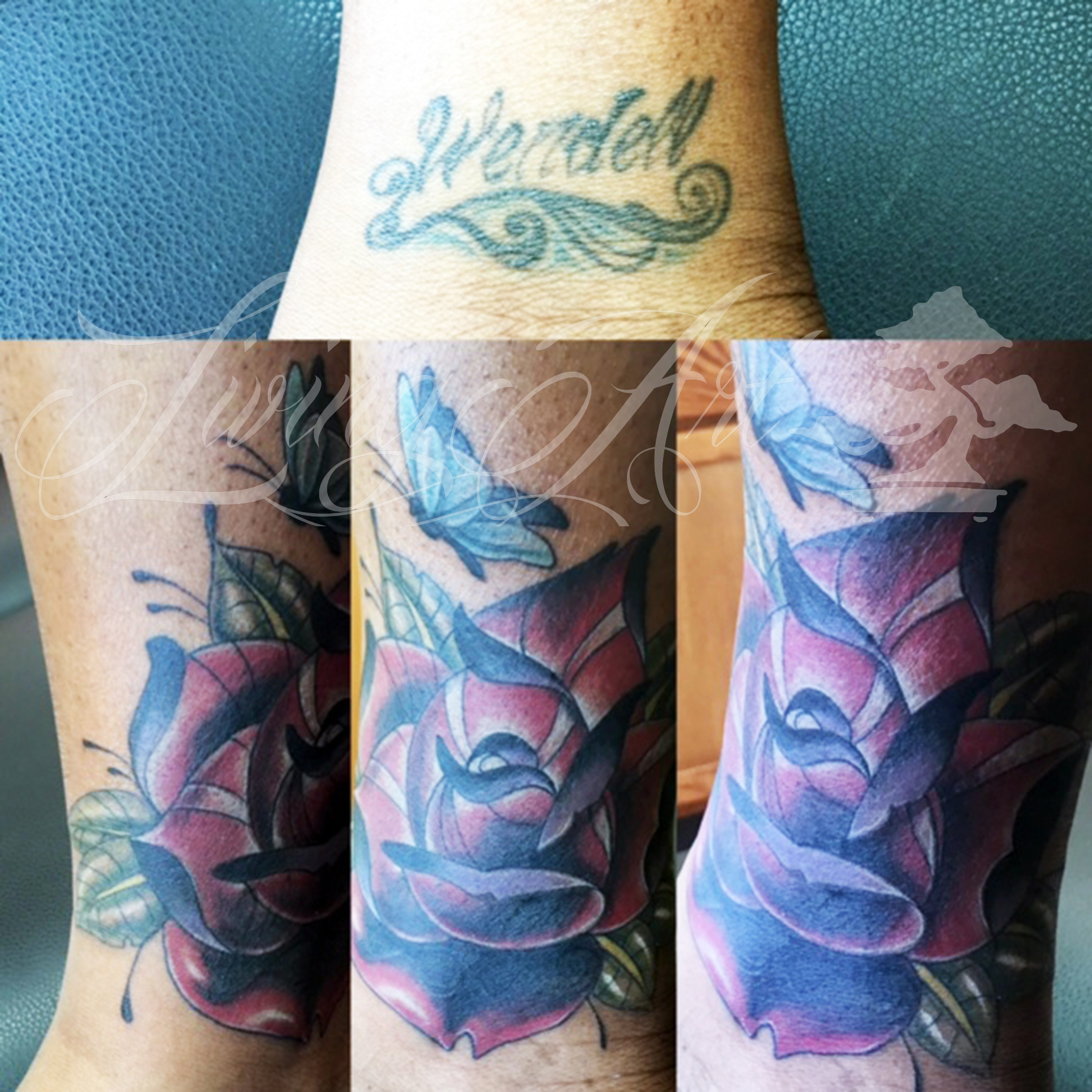 chris owen tattoo_cover up tattoo_neo traditional rose tattoo.jpg