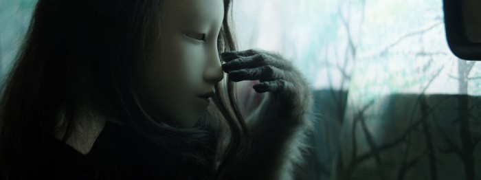 from Pierre Huyghe's Untitled (Human Mask)