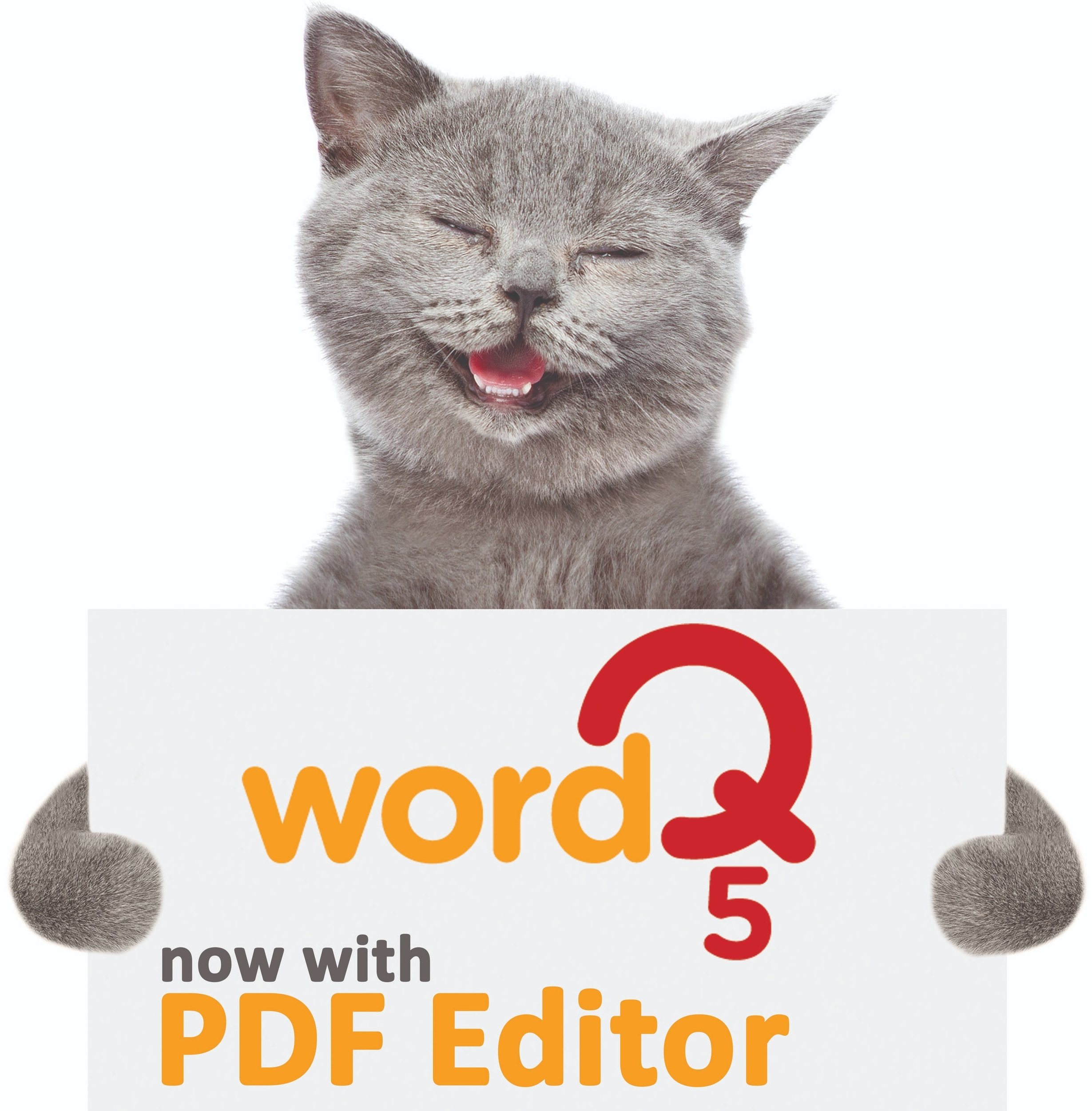 You Asked. We Listened. - WordQ 5 with PDF Editor is available now for Windows and Mac!