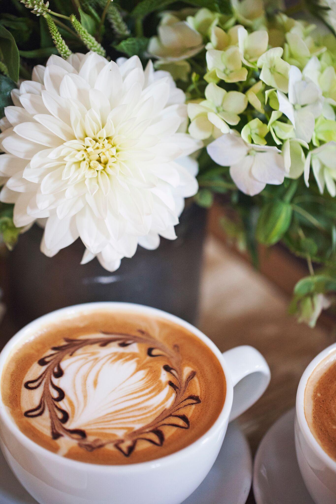 Mocha Latte Art by Espresso Elegance Catering