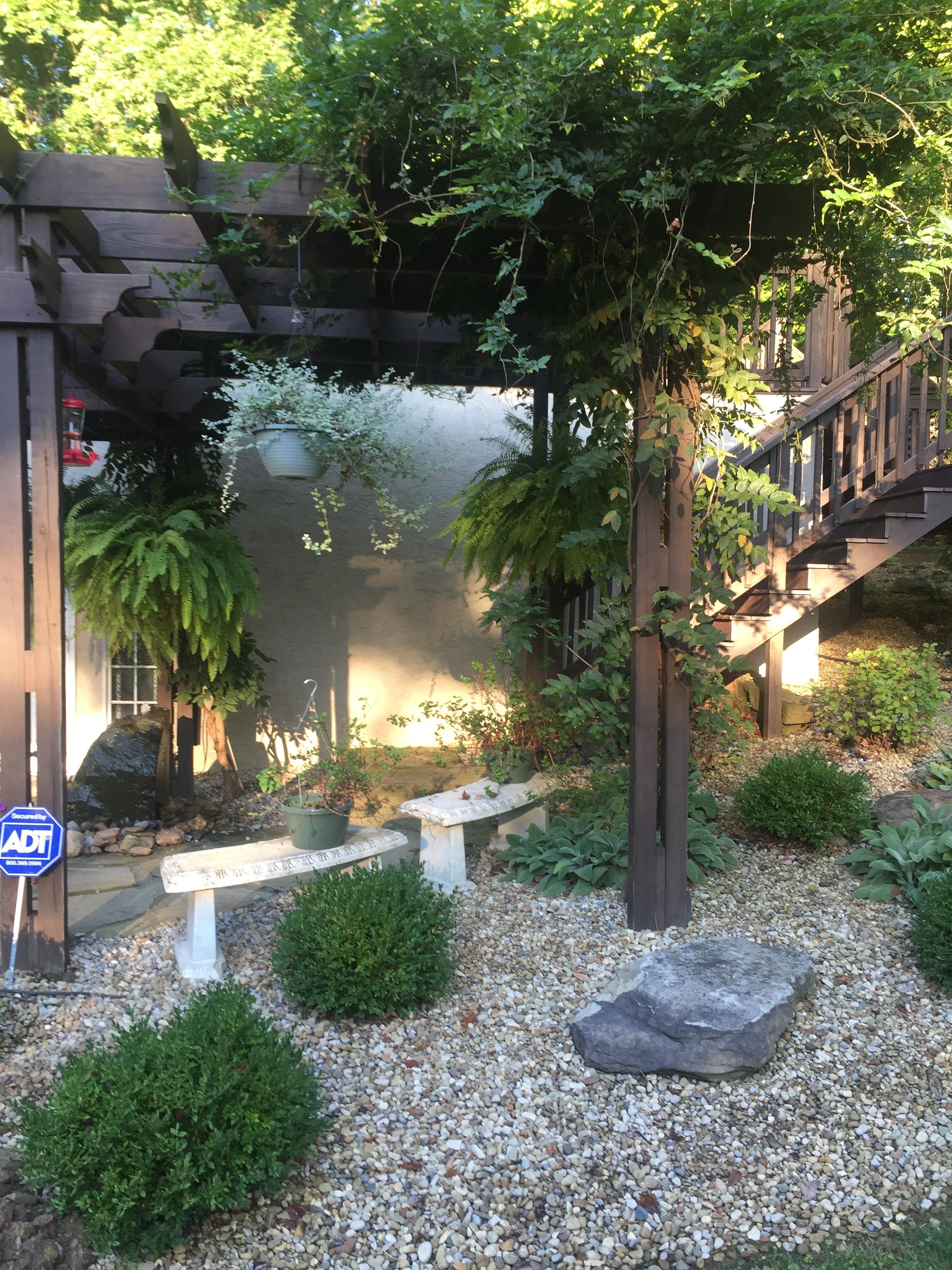 Landscape Design with Pergola