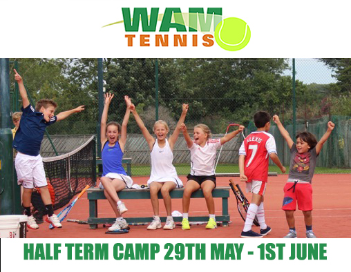 Book now for Half Term Camp Tuesday 29th May to Friday 1st June, for games, fun and much more...don't forget a packed lunch.   Book Here.