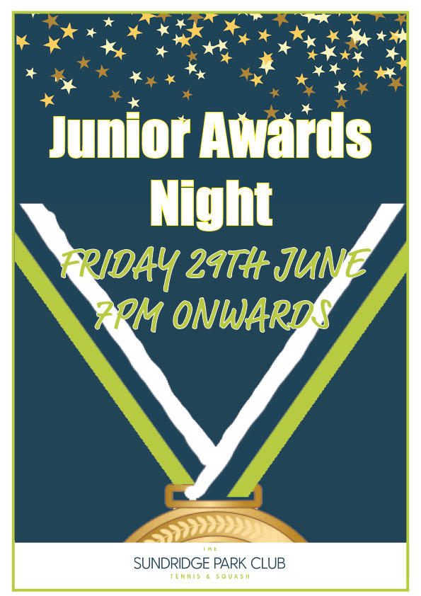Our favourite event of the year is back! Come and see how well our Juniors have progressed over the year. Ceremony will be held after Family Night - with barbecue and some great tunes!...