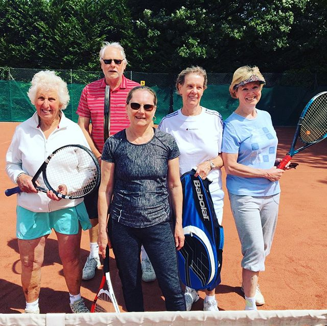 The beauty of tennis is it can serve you for many years to come and it can be just as much fun over the age of 60 - whilst also excelling at some very cunning moves! This is our Wed morning group - if you would like to join us just contact richardwhichello@wamtennis.co.uk #tennis #beckenham #bromley #besttimeofmylife #retirement #oversixty