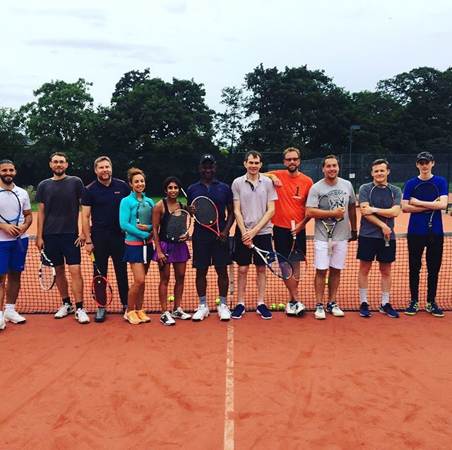 Wow - there were a lot of calories shredded in Blood Sweat & Tears on Monday evening. Why not come & try it out? Contact richardwhichello@wamtennis.co.uk to book. #bloodsweatandtears #tennis #beckenham #bromley #upforthechallenge #feeltheburn