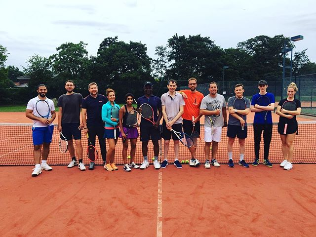 The best way to improve your tennis technique while raising your heart rate...Blood Sweat & Tears! Classes continue throughout the summer - contact richardwhichello@wamtennis.co.uk for booking... #spanishdrills #cardiotennis #tennis #feeltheburn #challenge