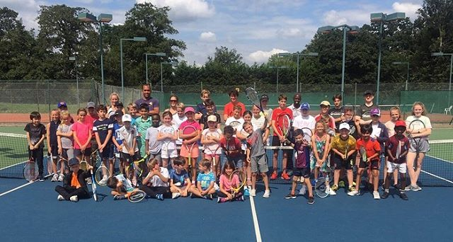 The fun continues at WAM summer camps - plus the challenge to build the largest tennis ball biscuit! #tenniscamp #holidaycamp #tennis #beckenham #bromley #beckenhammums #bromleymums #juniortennis