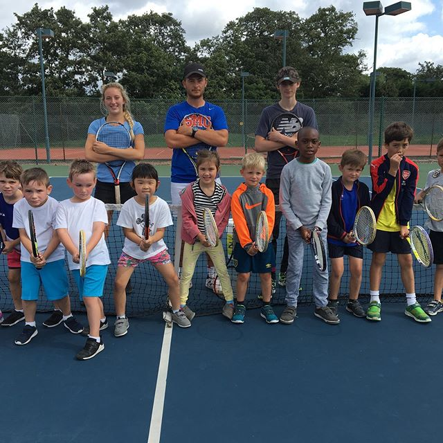 Look at our little superstars at the 4-7 years old WAM Tennis camp at Beckenham Sports Club, those are some serious ready positions! 💪
