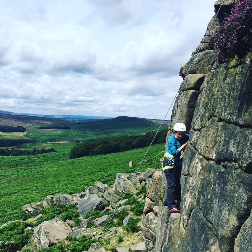 Ben and Jo - We just returned from a one-day climbing trip with Head On Out to Stanage, Peak District. Our trip was extremely well organised - including transportation and a great selection of climbing routes which perfectly suited our level of experience and helped us build up our skills and confidence. We totally surprised ourselves with what we could achieve in just one day of climbing! Ed is an excellent instructor - very knowledgeable, patient and enthusiastic. He answered all our questions, from climbing techniques and history to local geology. We would highly recommend Head On Out - our day could not have been better. We are already arranging our next trip!