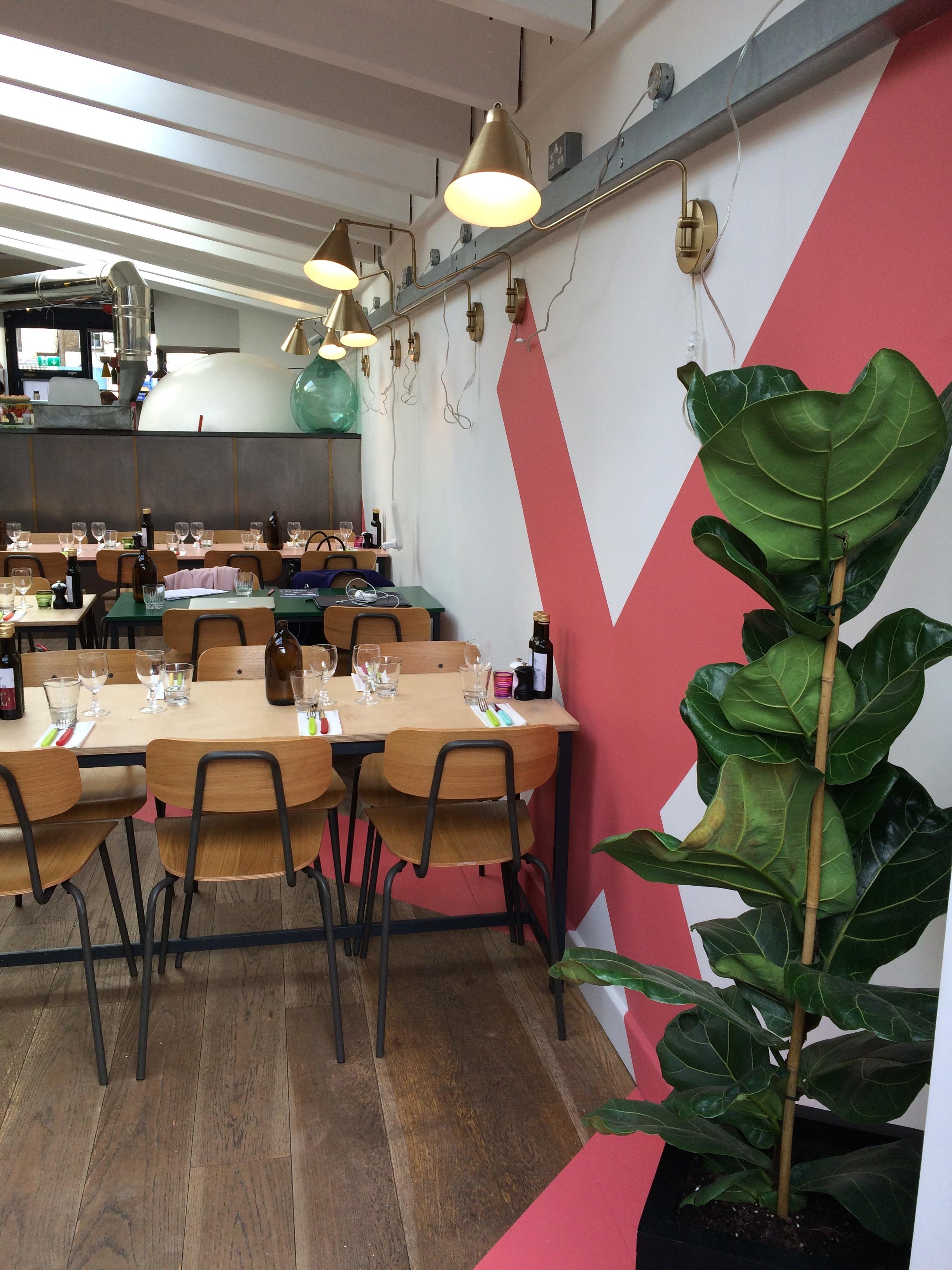 The Beautiful Pizza boy restaurant by An Artful Life studio