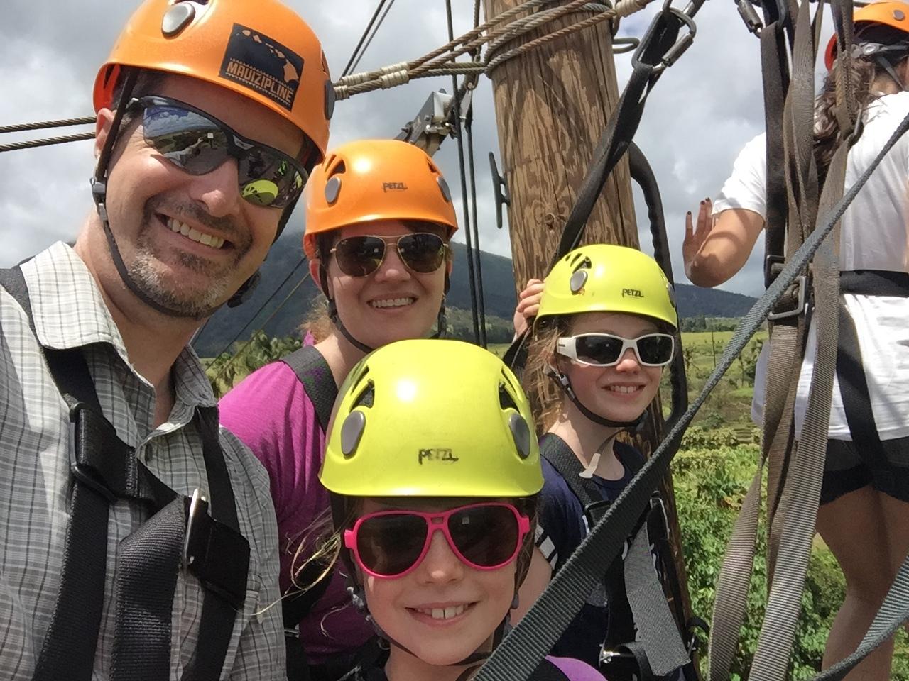 Family Zipline Adventure