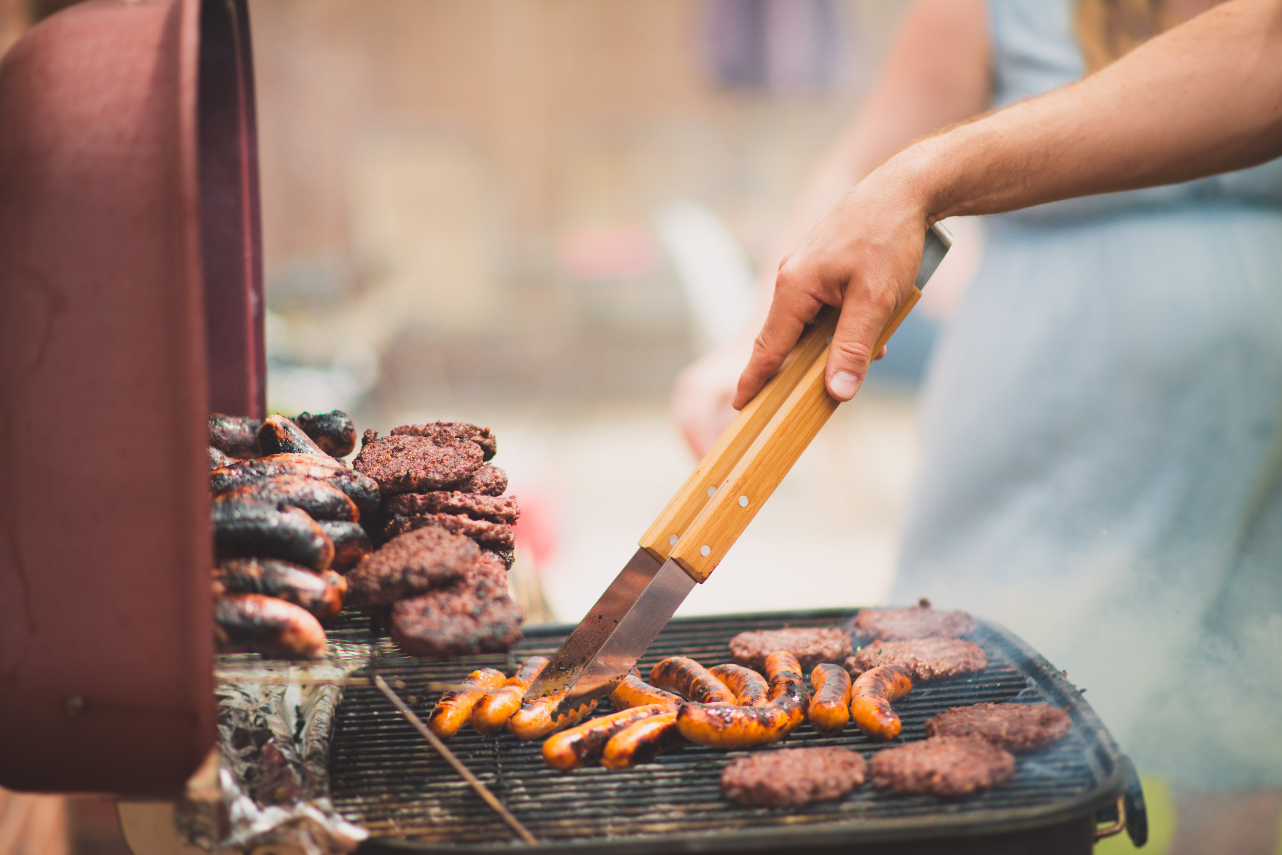 BBQs with Food Allergies, Potlucks with Food Allergies