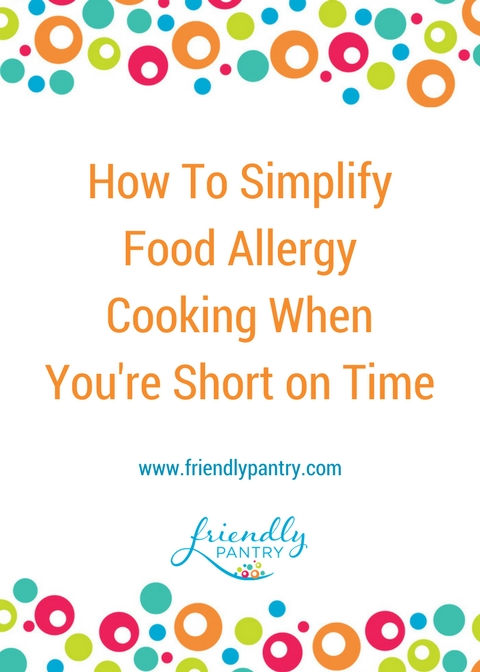 Cooking for special diets and common food allergies