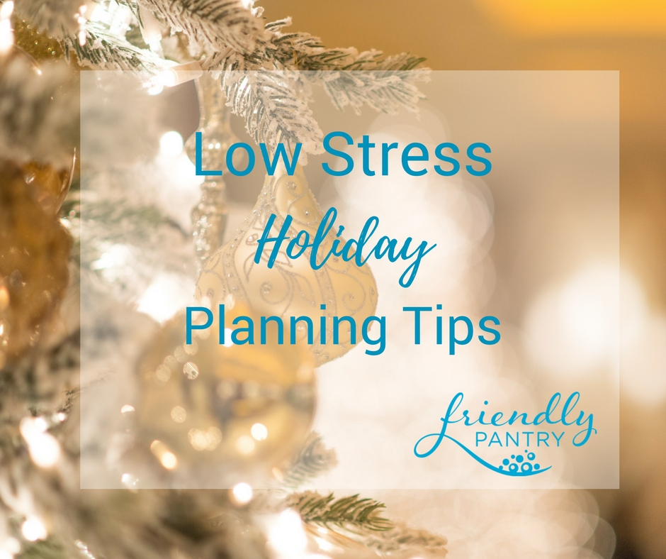 Meal planning and other tips to create less allergy eats cooking stress this Christmas.
