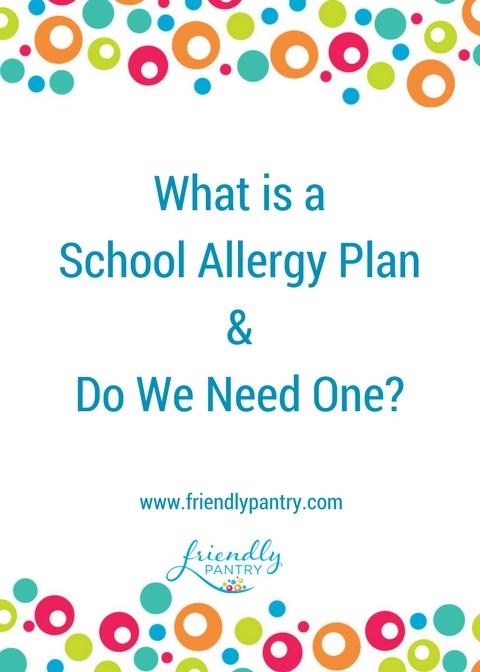 Food Allergy at School