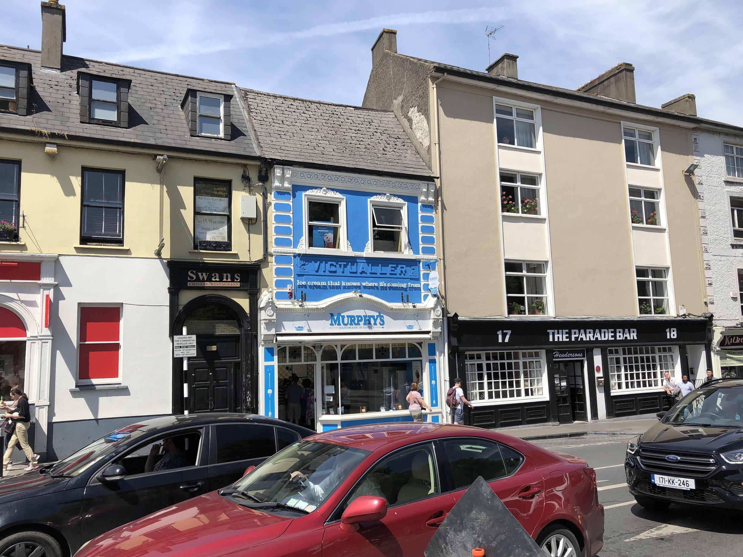 Ice cream allergy eats in Ireland