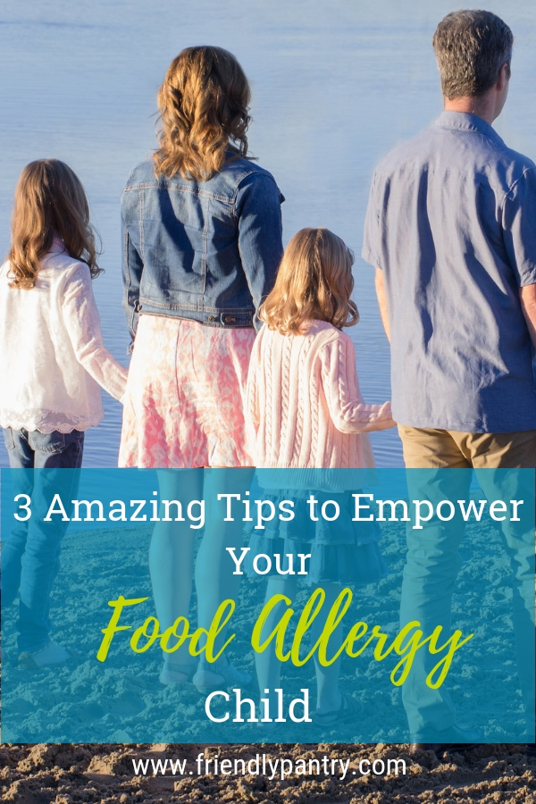 Tips for parents of kids with food allergies and food allergy awareness.