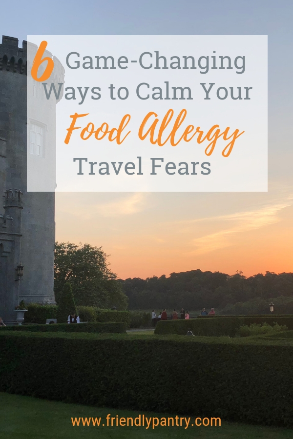This post is for food allergy families who want to take part in allergy travel.