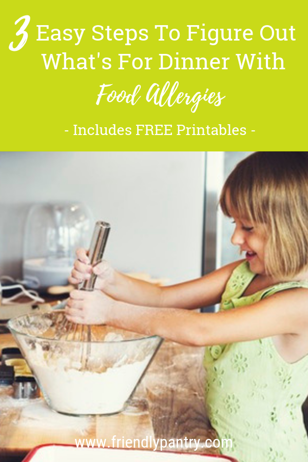 Easy food allergy dinner ideas for great allergy eats