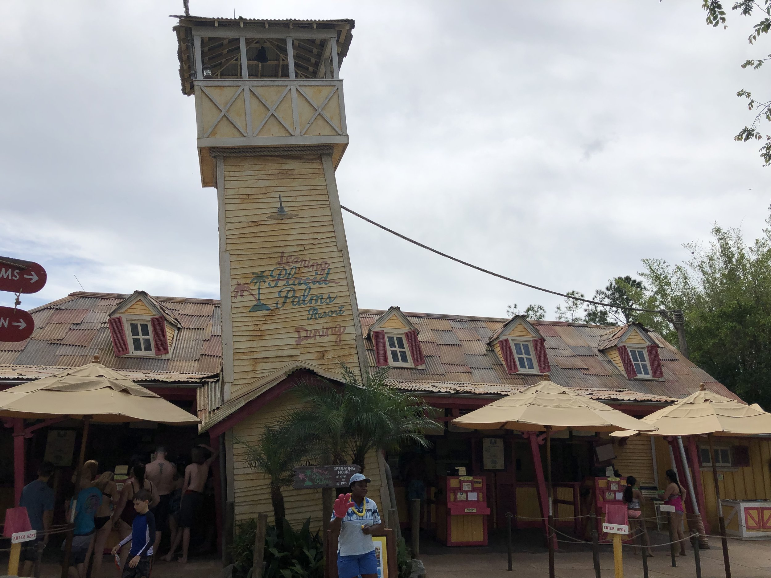Leaning Palms Quick Service Dining at Typhoon Lagoon Disney World Waterpark