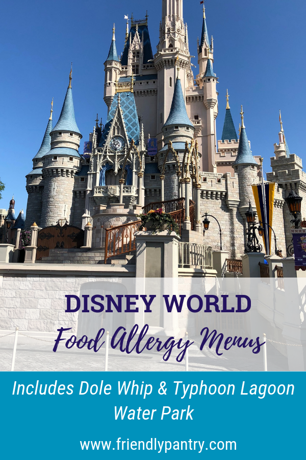 Disney World with Food Allergies - Allergy Menus — Friendly