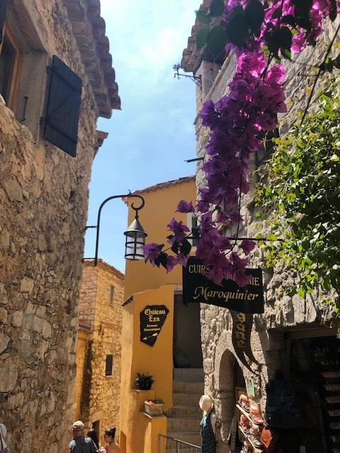 This charming medieval town of Eze, France was one of our favourite stops.