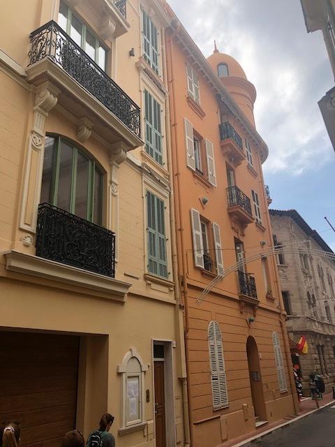 Small side street in Monaco