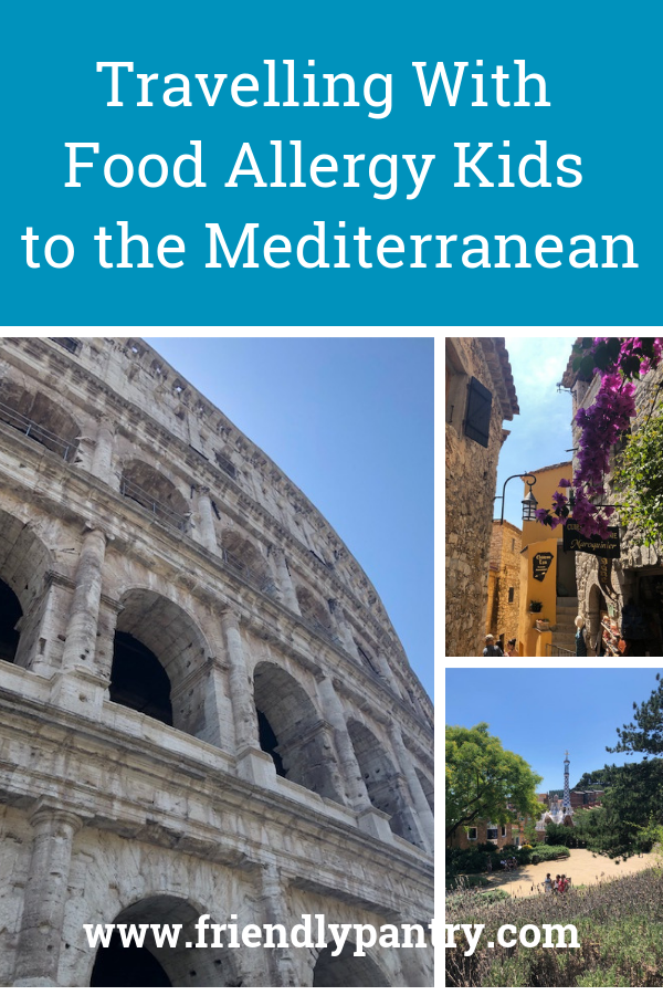 Travelling With Food Allergy Kids To The Mediterranean