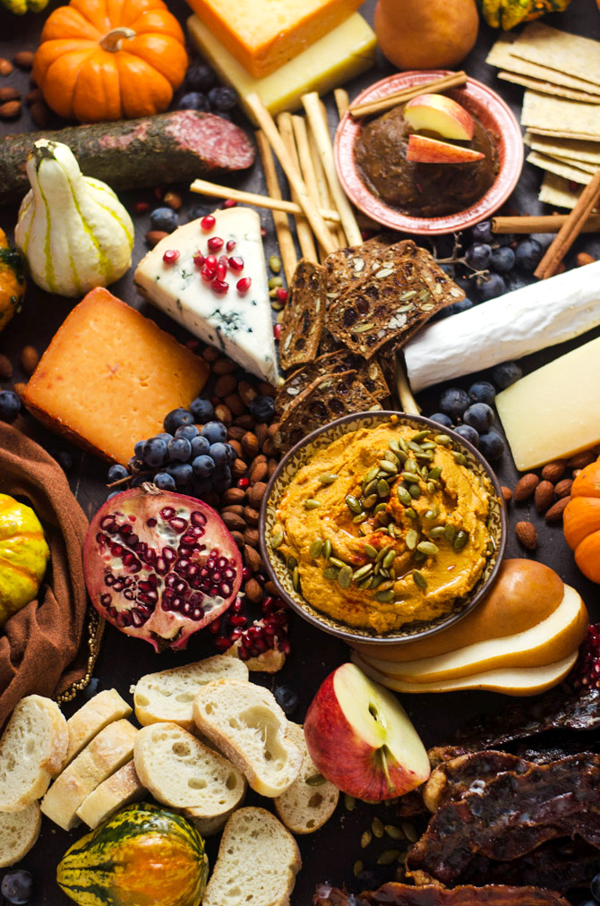 Autumn Cheese Board from Host the Toast