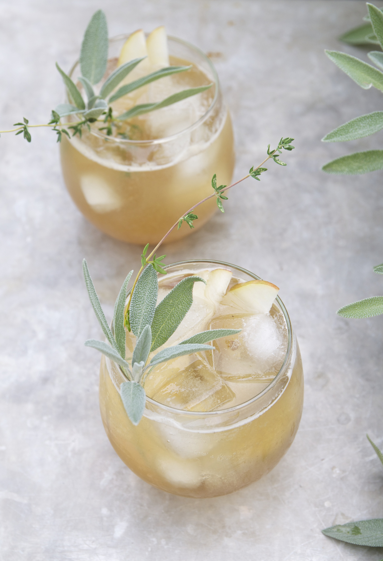 Bourbon + Spiked Pear Cocktail from Holly & Flora