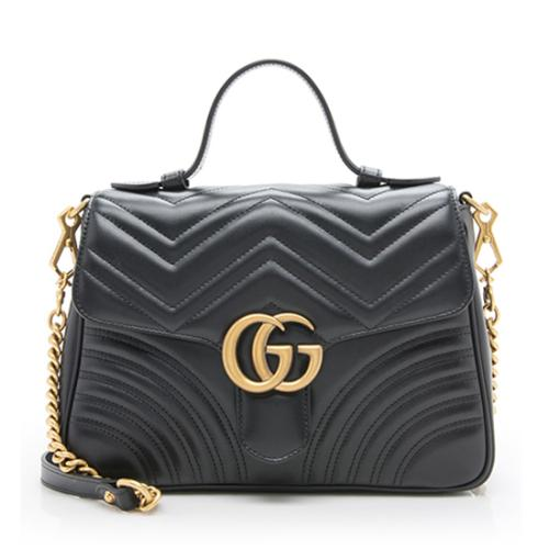 Gucci Marmont Small Top Handle Bag