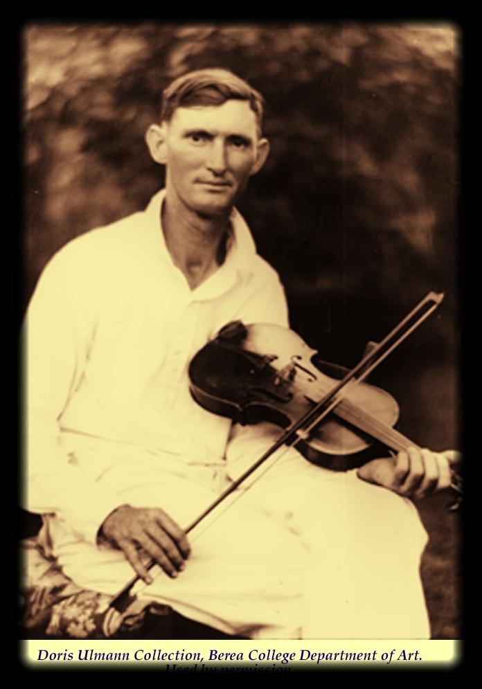 Hiram Stamper as a young man. Doris Ulmann Collection, Berea College.