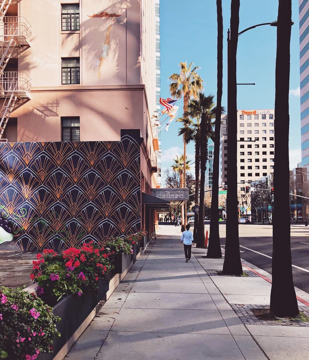 📷: Nimble. Elsewhere'g from Downtown San Jose while on a research visit