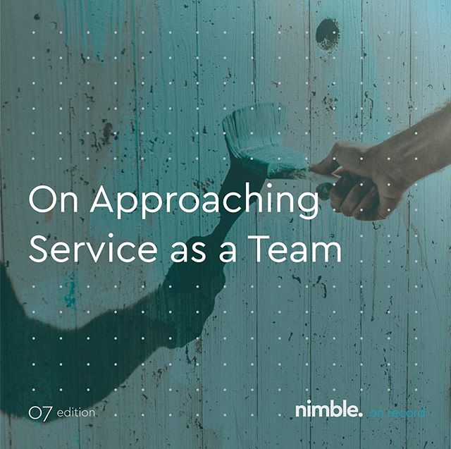 In this month's #nimbleonrecord we share six ways you can approach giving back with your team. — The best way to get started on incorporating time to serve into your company culture, just start. Truly, it's not a science, but a simple intentional action. Start and repeat. And reflect on its impact often. — 💭 Read on 👉 #linkinbio.